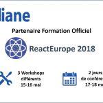 OXiane partenaire formation React-Europe 2018 la conférence européenne sur React.js