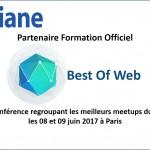 OXiane partenaire du Best Of Web 2017
