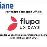 OXiane partenaire formation des flupa UX DAYS 2017