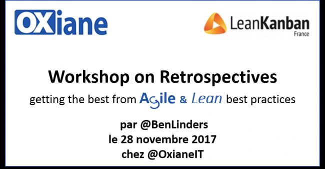 Workshop Retrospectives Agile & Lean