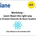 Workshop ReactJS par Kristijan Ristovski de React Academy
