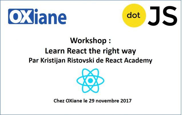 Workshop React noc 2017