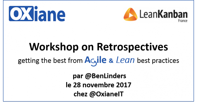 Workshop Retrospectives Agile & Lean